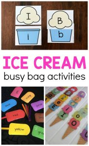 Ice cream activity