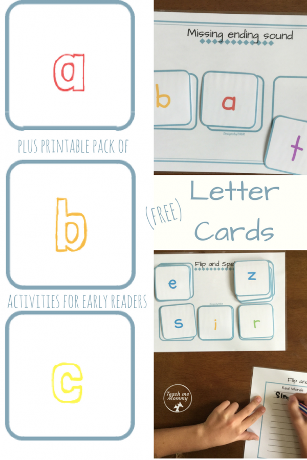 Letter Cards and pack