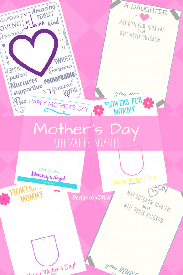 Mother's Day keepsakes