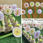 Planting Flowers Fine Motor Practice