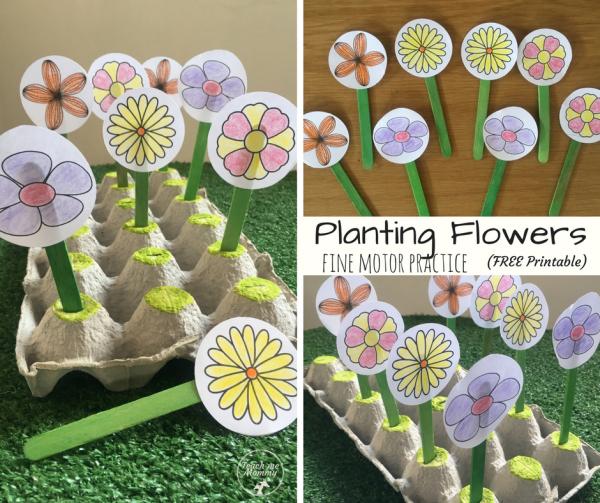 Planting Flowers fb