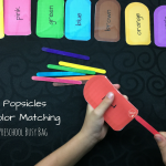 Popsicle Color Matching Busy Bag