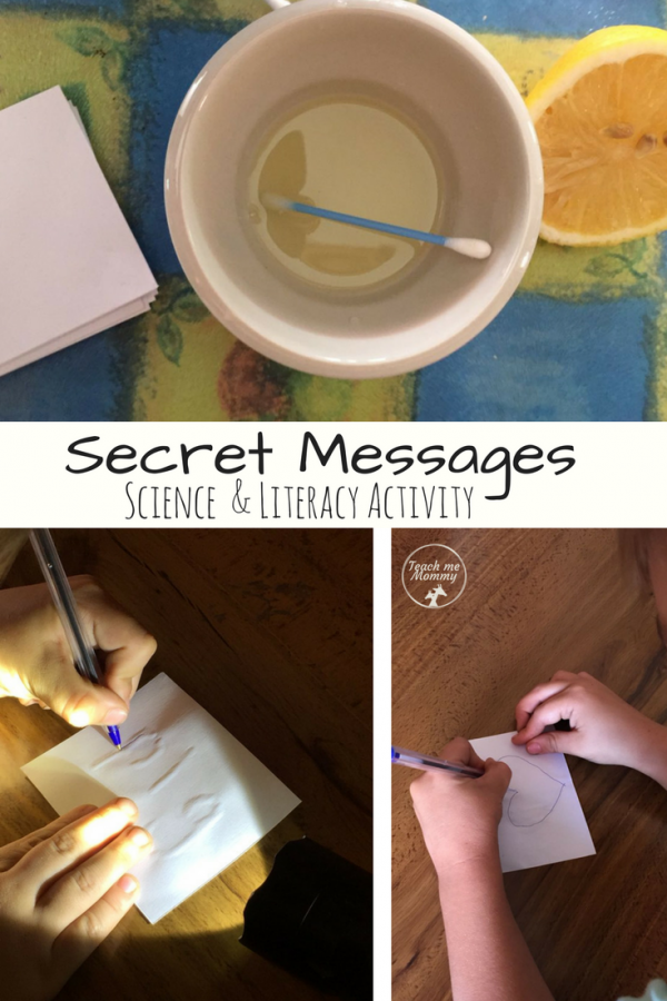 Secret Messages activity