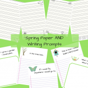 Spring Paper Writing Prompts