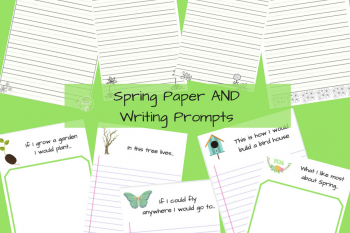Spring Paper and Writing Prompts