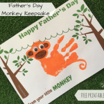 Father's Day Monkey Keepsake