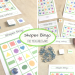Shapes Bingo