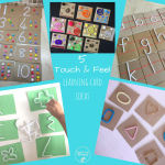 Touch and Feel Learning Cards