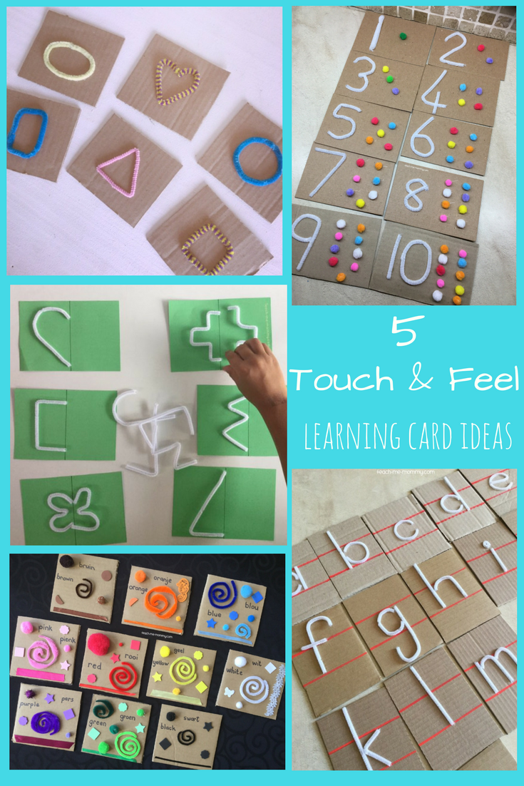 Touch & Feel cards