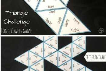 Triangle Challenge Long Vowels