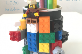 Lego Builder Stationery Holder