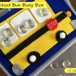 School Bus Busy Box