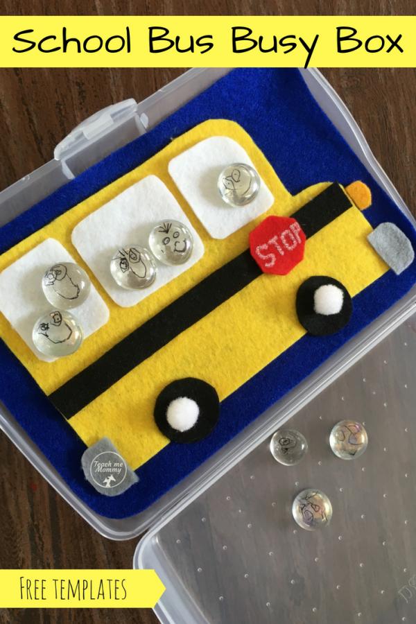 School bus busy box