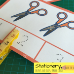Stationery Count & Clip or Trace Cards