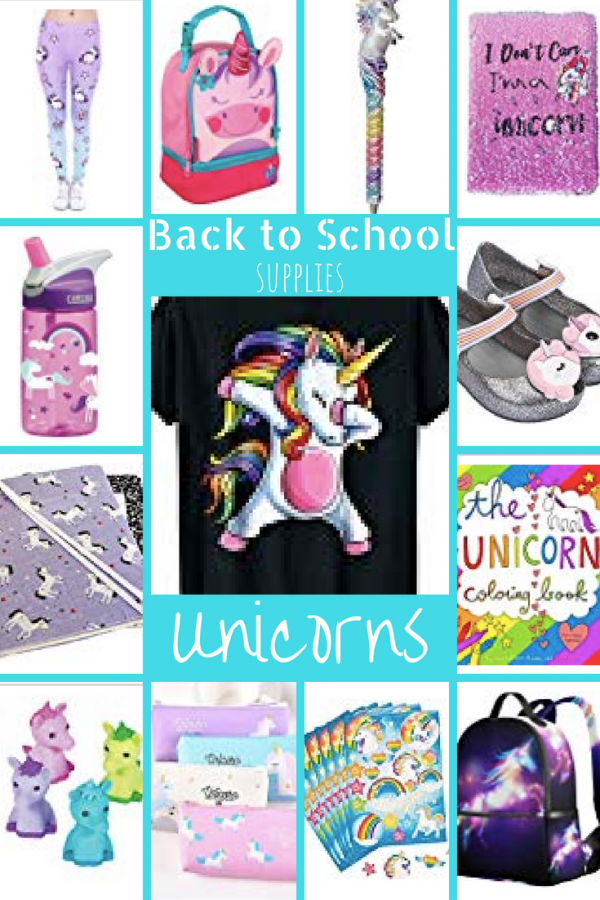 Back to School unicorns