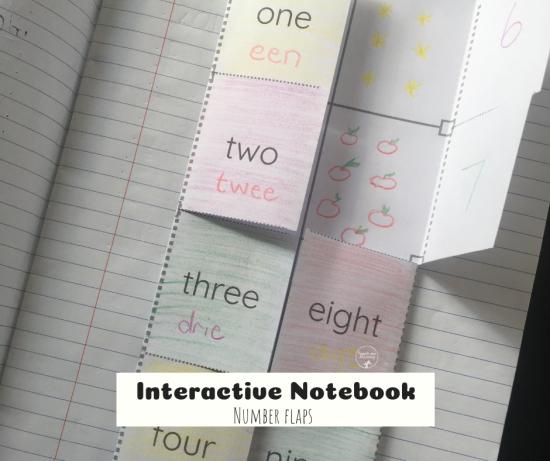 Interactive Notebook Numbers