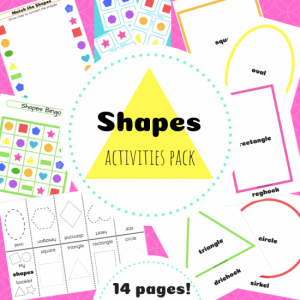 Shapes pack TpT