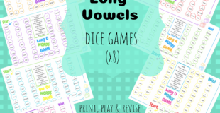 Long Vowels Dice Games
