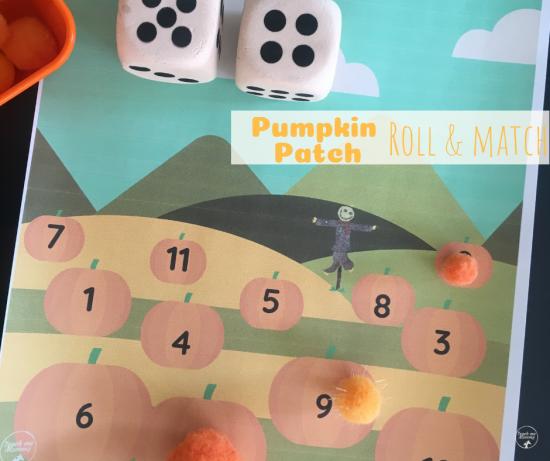 pumpkin patch roll
