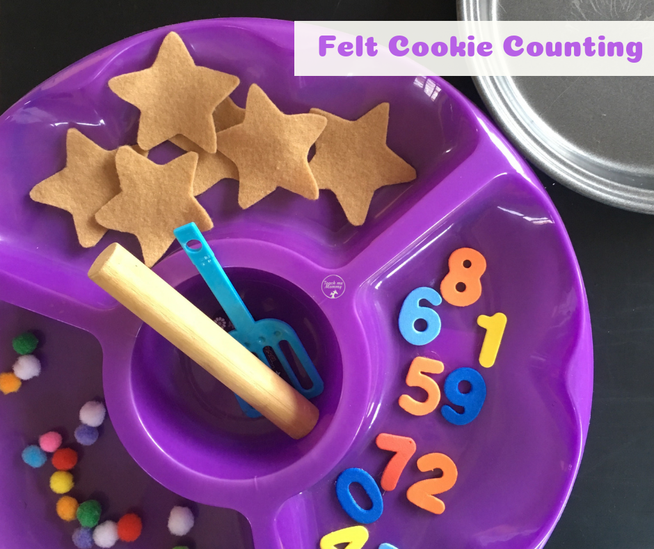 Felt Cookie Counting