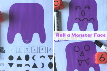 Roll a Monster Face
