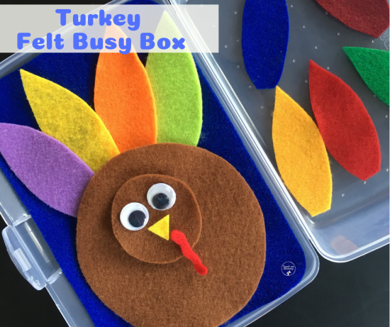 Turkey Busy Box