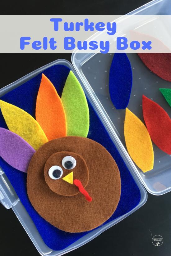 Turkey busy box