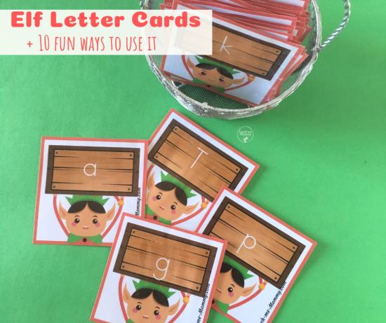 Elf letter cards fb