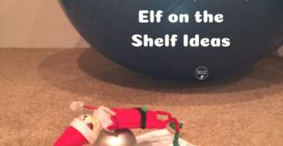 Night-before, easy Elf on the Shelf Ideas