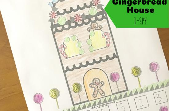 Gingerbread House I-spy