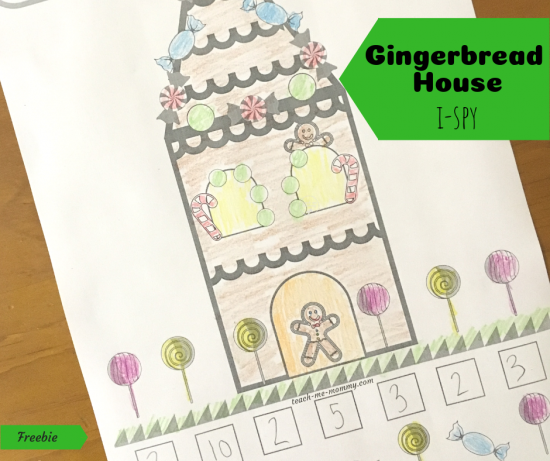 Gingerbread House I-spy