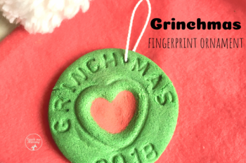 Grinchmas Fingerprint Ornament