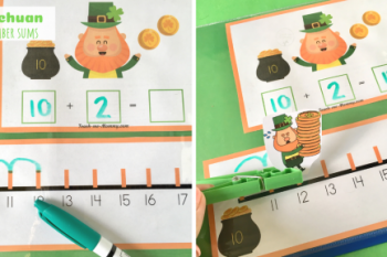 Leprechaun Teen Number Sums