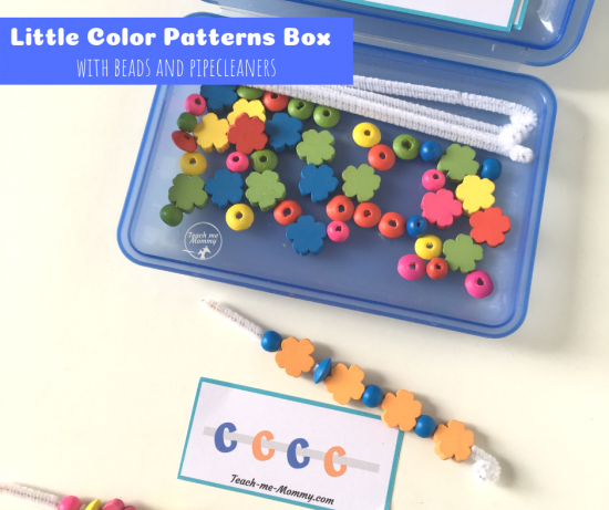 little color patterns box
