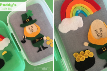 St. Paddy's Felt Busy Box