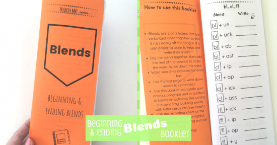 Blends Booklet