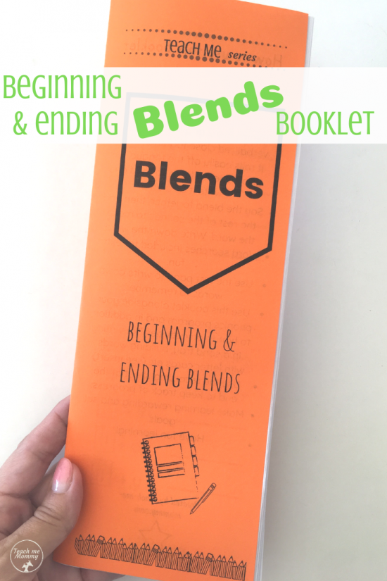 Blends booklet pin