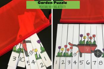 Garden Puzzle Busy Bag