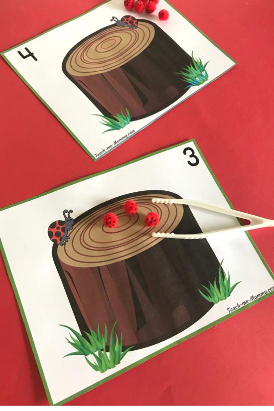 Ladybug cards2