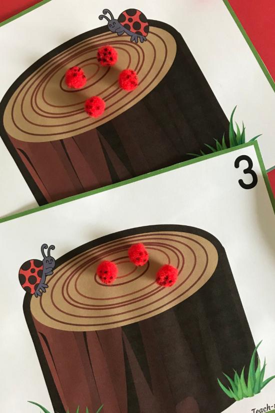 Ladybug cards3