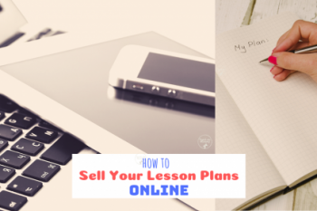 Selling Your Lesson Plans Online