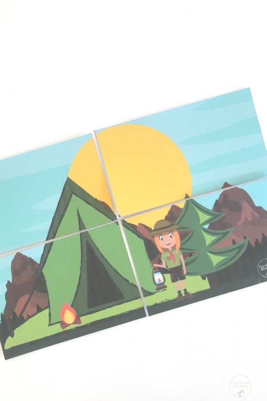 Camping puzzle2