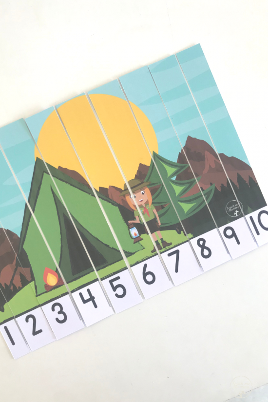 Camping puzzle3