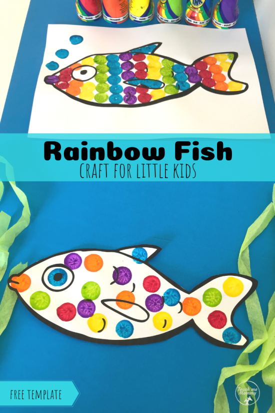 Fish craft pin