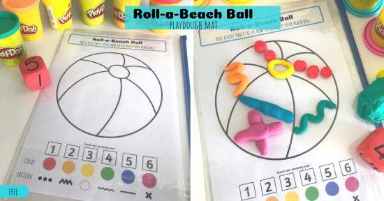 Roll-a-Beach ball fb