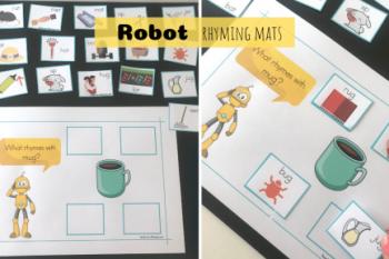 Robot Rhyming Mats