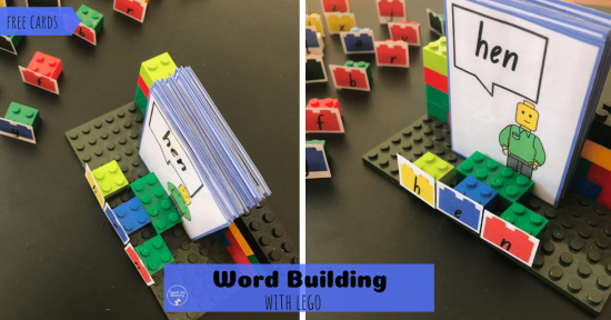 Lego Word Building