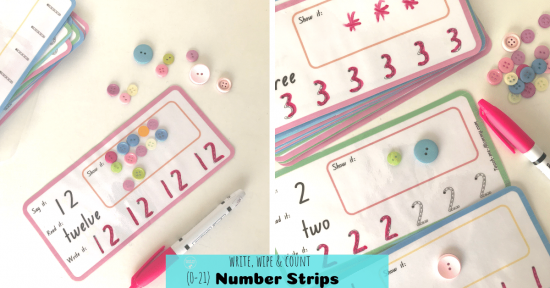 Number strips fb