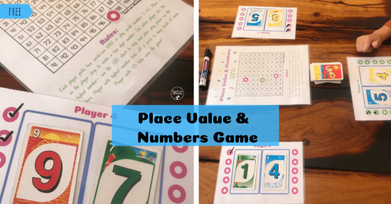 Place value game fb