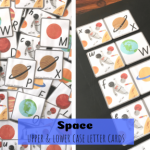 Space letter cards fb